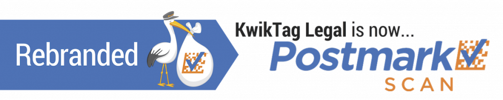 KwikTag Legal is now Postmark Scan