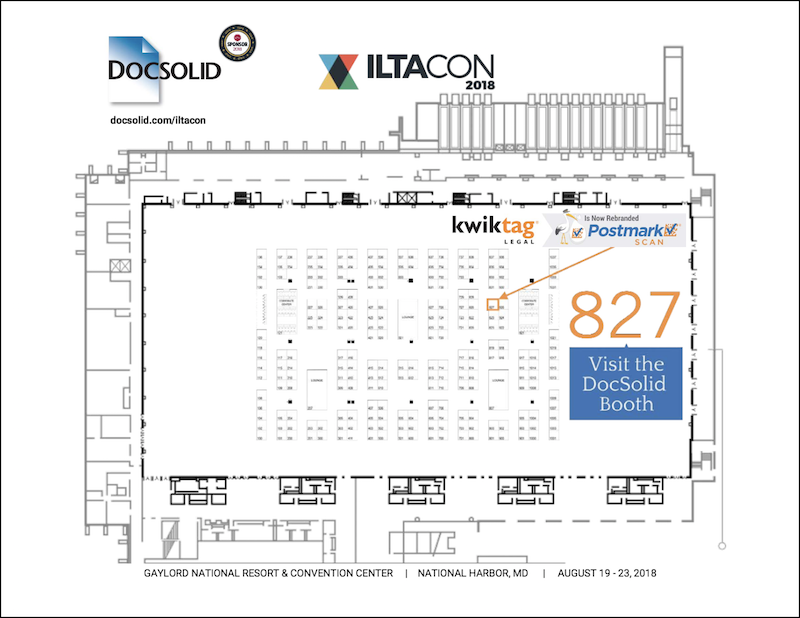 ILTACON 2018 DOCSOLID BOOTH 827