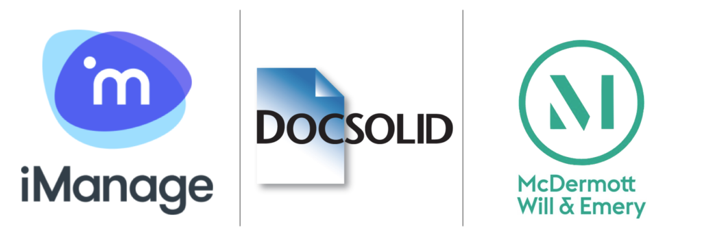 DocSolid + iManage Chicago Event @MWE