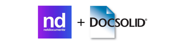 NetDocuments in partnership with DocSolid
