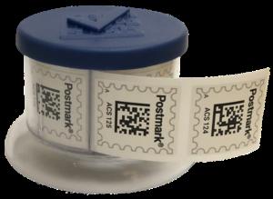 DocSolid Postmark Stamp Dispenser for Airmail2 Digital Mailroom